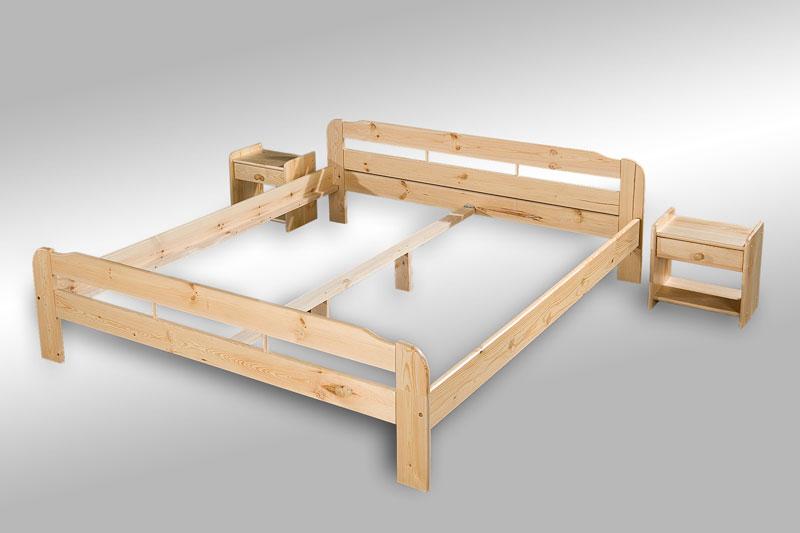 supply24 massivholz bett sarah aus kiefernholz 90 100 120 140 160 180 200 x 200. Black Bedroom Furniture Sets. Home Design Ideas