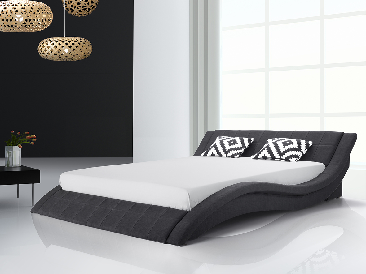 supply24 designer stoff bett polsterbett vicky lederbett. Black Bedroom Furniture Sets. Home Design Ideas