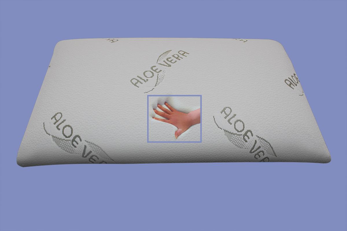 orthop disches bio gelschaum kopfkissen gel nackenkissen 80x40 aloe vera supply24. Black Bedroom Furniture Sets. Home Design Ideas