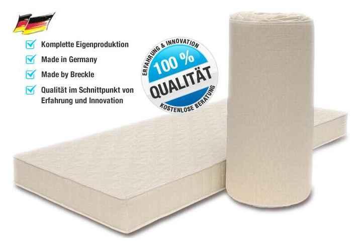 super g nstige komfortschaum matratze von breckle h he 14. Black Bedroom Furniture Sets. Home Design Ideas