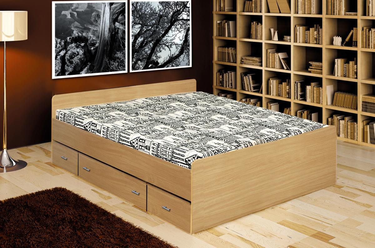 bett 120 200 mit schubladen. Black Bedroom Furniture Sets. Home Design Ideas