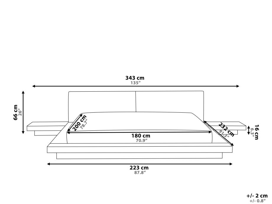 japanisches designer holz bett japan style japanischer stil futonbett supply24. Black Bedroom Furniture Sets. Home Design Ideas
