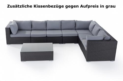 designer rattan gartenmöbel lounge rattanlounge günstig sitzmöbel, Garten seite