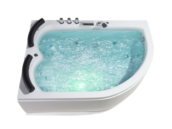 whirlpool badewanne palermo doppelwanne 15 massage d sen led g nstig supply24. Black Bedroom Furniture Sets. Home Design Ideas