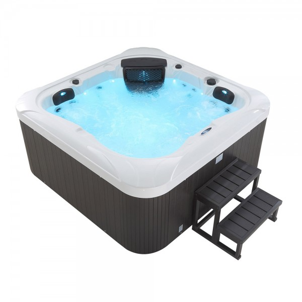 Outdoor Whirlpool Hot Tub Spa Dubai Mit 25 Massage Düsen + Heizung + Ozon  Desinfektion Für