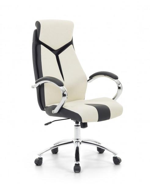 Bürostuhl weiß  Racing Chefsessel Bürosessel Bürostuhl bequemer Sessel weiss ...