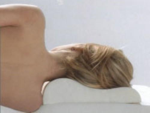Viskoelastisches Nackenstützkissen / Kopfkissen / Wellenkissen aus Visco / Visko 50x30 cm