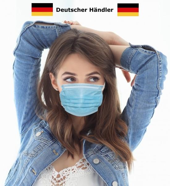 Atemmaske Behelfsmundschutz Maske Alltagsmaske 3-lagig Gesichtsmaske Mundmaske Nasenmaske Mundbedeckung Behelfsmaske