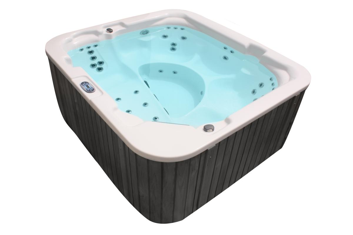 Outdoor Whirlpool Hot Tub MADE IN GERMANY mit 39 Massage Düsen ...
