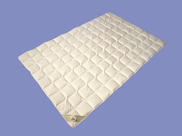Wildseide Sommer Seiden Bettdecke Garanta Steppdecke Sommerdecke extra leicht, erfrischend und kühlend