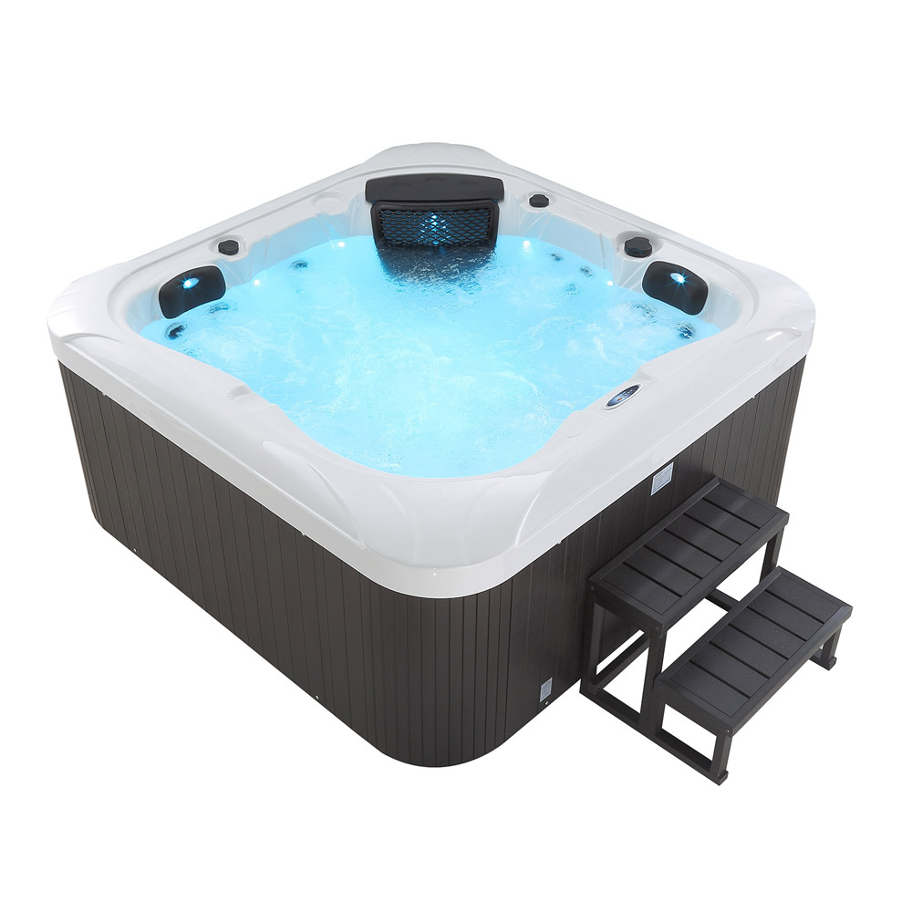 hot tub whirlpool outdoor 25 d sen heizung ozon g nstig f r 4 personen supply24. Black Bedroom Furniture Sets. Home Design Ideas