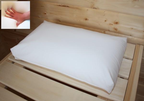 Outdoor Gel Gelschaum Sauna Kopfkissen Saunakissen Schwimmbadkissen Kissen für Badewanne Behandlung Reise 40x24x12 cm