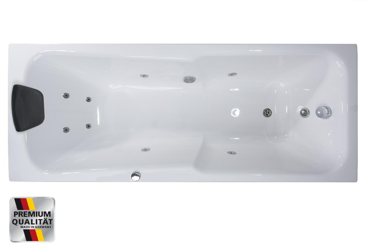 whirlpool badewanne g nstig raumsparwanne rechts links. Black Bedroom Furniture Sets. Home Design Ideas