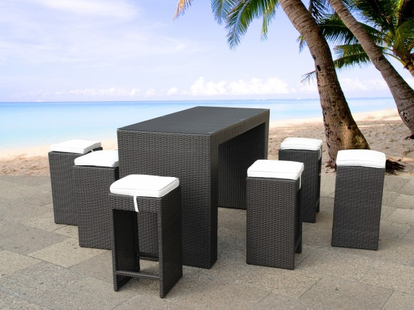 designer rattan gartenm bel barm bel rattanm bel g nstig barhocker supply24. Black Bedroom Furniture Sets. Home Design Ideas