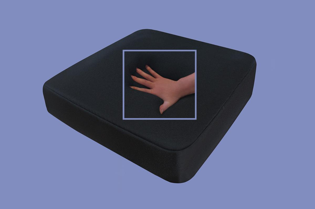 gelschaum sitzkissen gel sitzpolster f r auto b rosessel 40 x 40 x 5 cm supply24. Black Bedroom Furniture Sets. Home Design Ideas