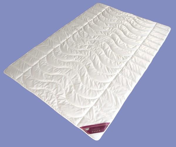 Leinen Sommer Bettdecke Garanta Steppdecke Sommerdecke extra leicht, erfrischend und kühlend