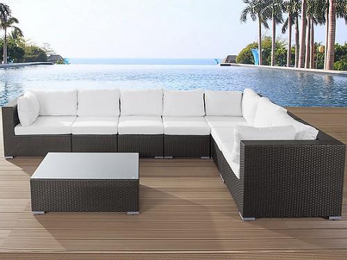 Designer Rattan Gartenmöbel Lounge Rattanlounge günstig Sitzmöbel ...