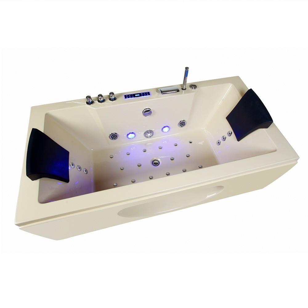 whirlpool badewanne samurai profi champagner 26 massage. Black Bedroom Furniture Sets. Home Design Ideas