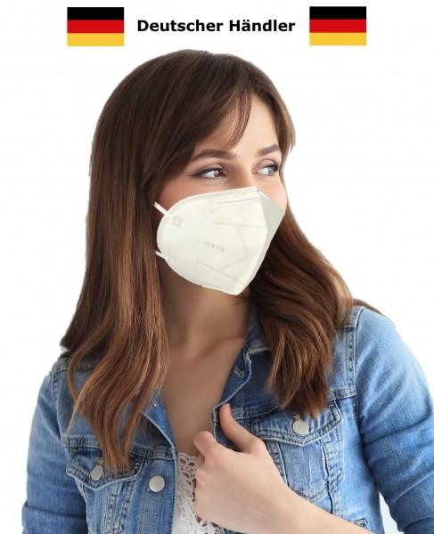 Atemschutzmaske Mundschutz Maske KN95 GB2626-2006 / FFP2 95% Filterleistung Atemmaske Gesichtsmaske Schutz vor Spucke Hustenschutz Niesschutz