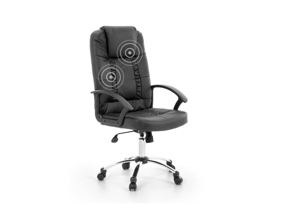 Bürostuhl Schwarz Massagesessel Drehstuhl Bürostuhl Sessel Wohnzimmer Massage DE