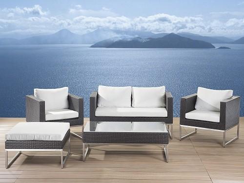 luxus rattan gartenmöbel lounge rattanlounge günstig sitzmöbel, Gartenmöbel