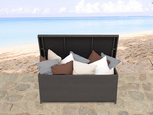 rattan gartenm belbox kissenbox rattanbox rattantruhe auflagentruhe supply24. Black Bedroom Furniture Sets. Home Design Ideas
