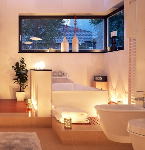 Eck Badewanne Basel rechts / links Acryl Eckwanne optional mit LED Schürze Armaturen für Bad innen