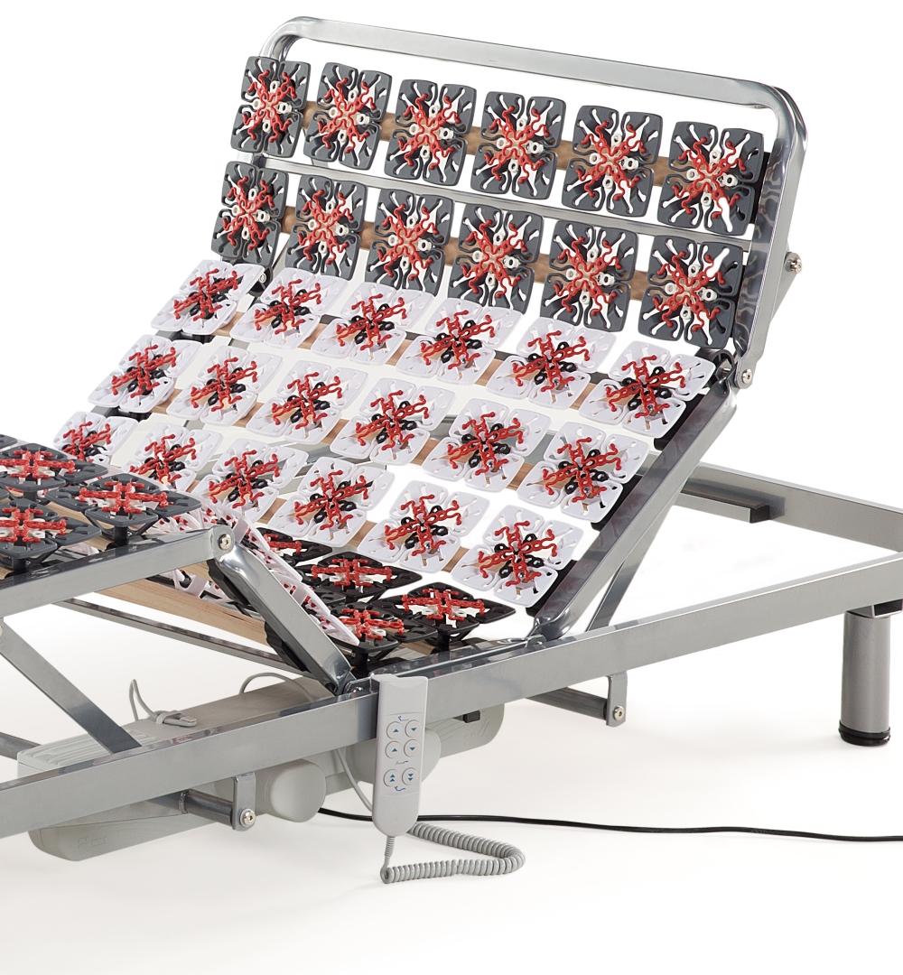 elektrischer 7 zonen motor teller lattenrost lattenrahmen aufstehhilfe supply24. Black Bedroom Furniture Sets. Home Design Ideas