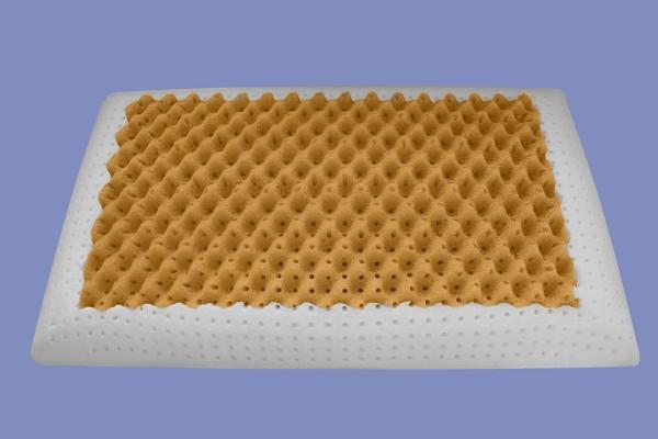 Orthopädisches Air Massage Gel / Gelschaum Kopfkissen / Nackenstützkissen 80x40 cm 2 verschiedene Seiten