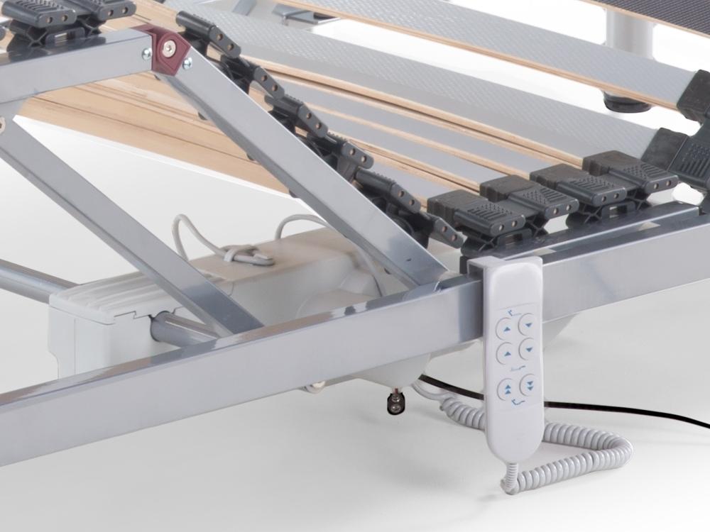 elektrischer 7 zonen motor lattenrost lattenrahmen aufstehhilfe g nstig supply24. Black Bedroom Furniture Sets. Home Design Ideas