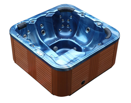 hot tub whirlpool outdoor 44 d sen heizung ozon g nstig f r 6 personen supply24. Black Bedroom Furniture Sets. Home Design Ideas