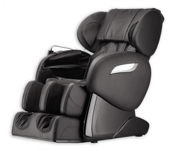 """Massagesessel """"Shiatsu F2000"""" schwarz mit Rollentechnik + Heizung + Fußmassage + Beinmassage + Armmassage super günstig"""