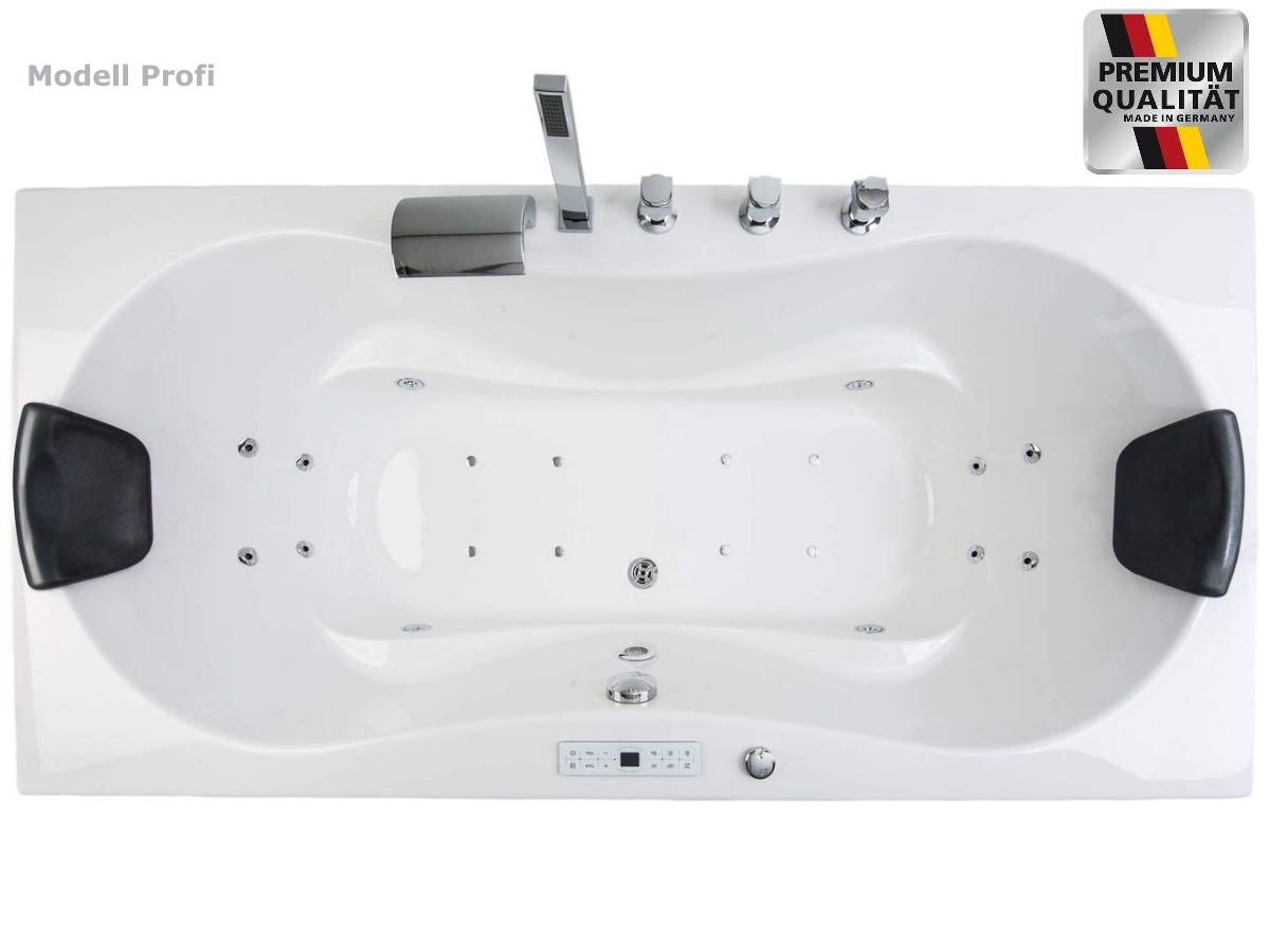 Rechte / Linke Luxus Whirlpool Badewanne schöne Eckbadewanne 4 ...
