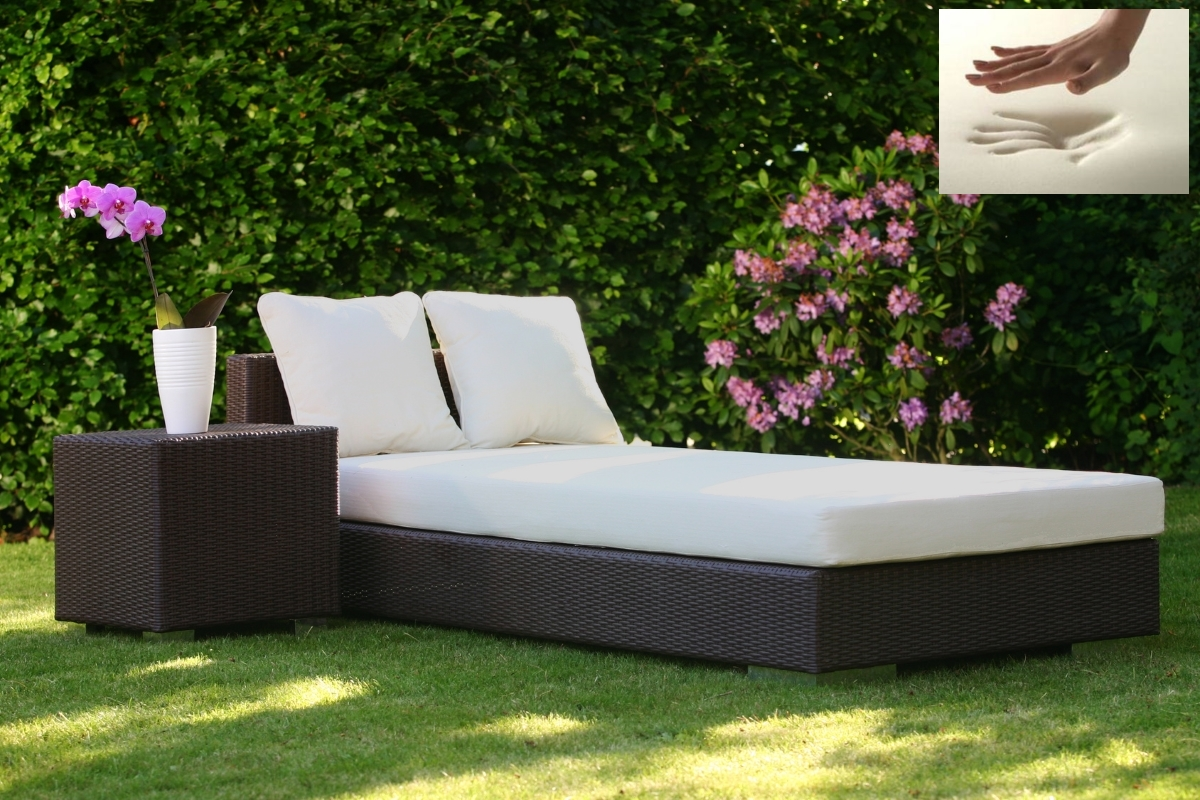 visco polsterauflage visko liegenauflage f r sonnenliege gartenliege supply24. Black Bedroom Furniture Sets. Home Design Ideas