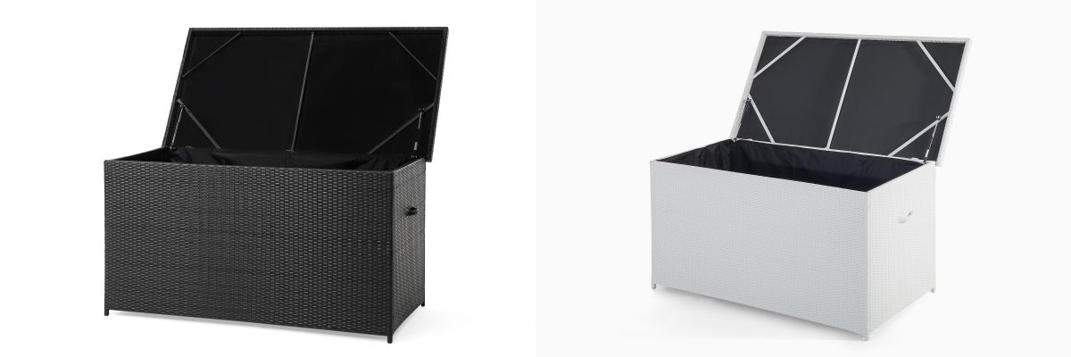 rattan gartenm belbox kissenbox rattanbox rattantruhe auflagentruhe supply24. Black Bedroom Furniture Sets. Home Design Ideas