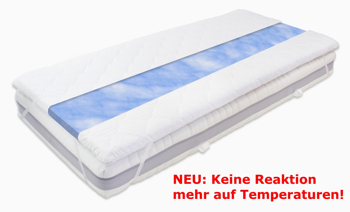 Gel foam travel mattress topper blue sensation no reaction on our new gel foam mattress topper blue sensation especially attracts by a favourable price at the second view you will find out that the innovation topper solutioingenieria Image collections