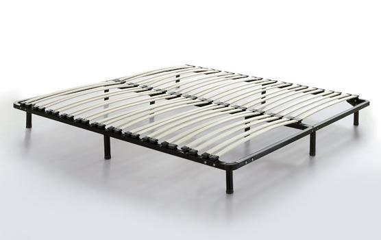 Bettgestell 180x200 günstig  Designer Massivholz Bett Japan Stil Futonbett flach Walnuss mit ...