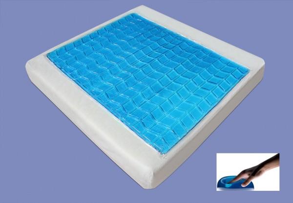sitzkissen mit gel visco viscoelastisches sitzpolster 45. Black Bedroom Furniture Sets. Home Design Ideas