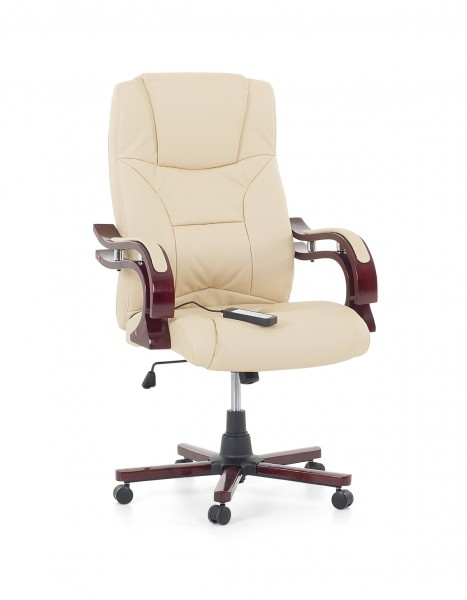 white leather executive chair. Leather Executive Chair / Massage \ White